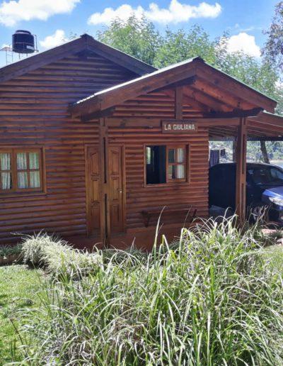 """Hermosa cabaña de """"Riberas del Paraná""""."""