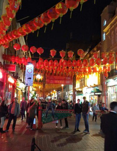 Paseo por Chinatown - Londres.
