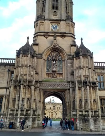 Entrada al Christ Church - Oxford.