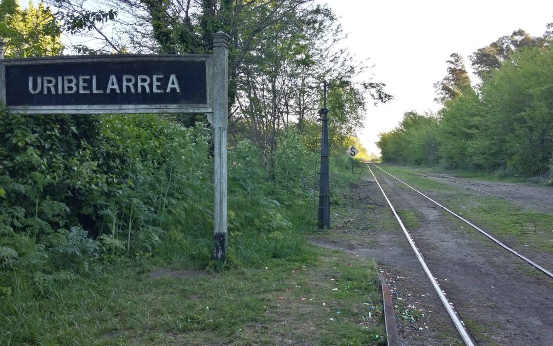 Estación de Uribelarrea.