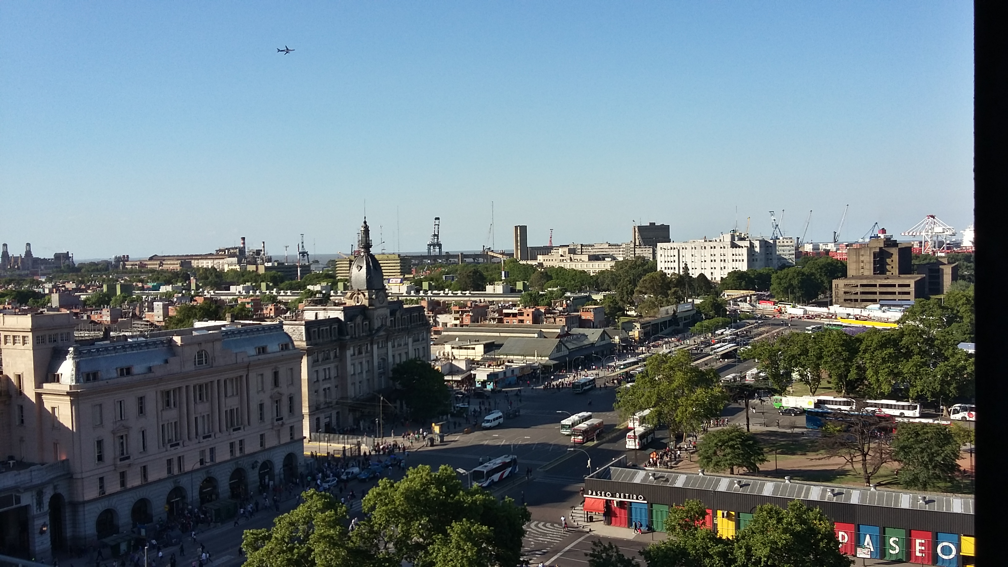 Vistas a Retiro desde la Torre Monumental.