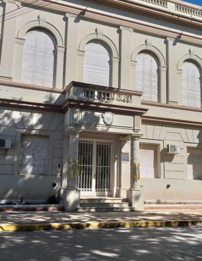 Edificio municipal de Carmen de Areco - Buenos Aires.