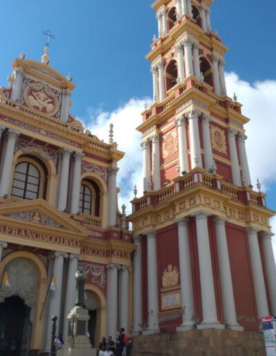 Iglesia San Francisco Salta Capital - Argentina.